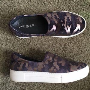 J Slides Shoes   Jslides Ariana Camo